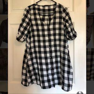 Zara Plaid Shirt/Dress